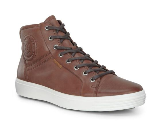 ECCO Mens Soft 7 Boot (MAHOGANY)