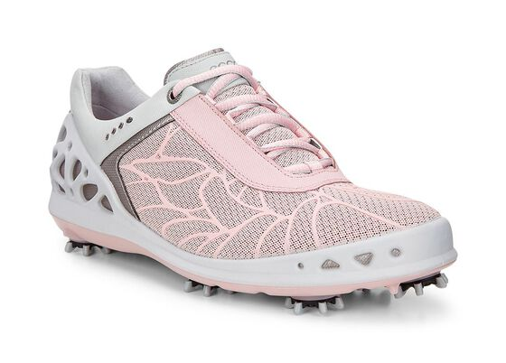 ECCO Womens Golf CageECCO Womens Golf Cage SILVER PINK (00216)