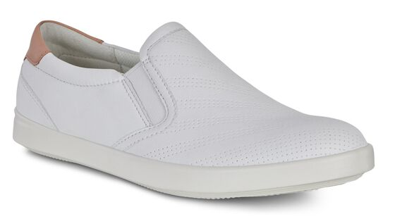 ECCO Aimee Sport Slip On (WHITE/MUTED CLAY)