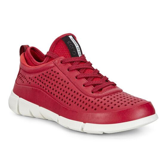 ECCO Womens Intrinsic Sneaker (BRICK/TOMATO)