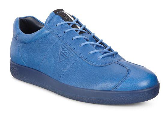 ECCO Mens Soft 1 Sneaker (COBALT)