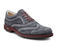 ECCO Mens Tour Hybrid Wingtip (BLACK/PORT)