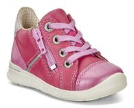 ECCO First Sneaker (BEETROOT/BEETROOT/SILVER MET.)