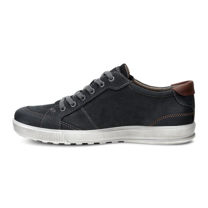 ... ECCO Ennio Retro SneakerECCO Ennio Retro Sneaker BLACK/COGNAC (51866)  ...