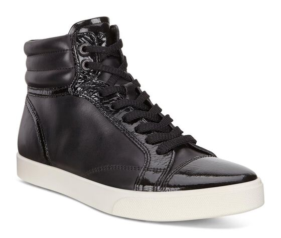 ECCO Gillian High Top (BLACK/BLACK)