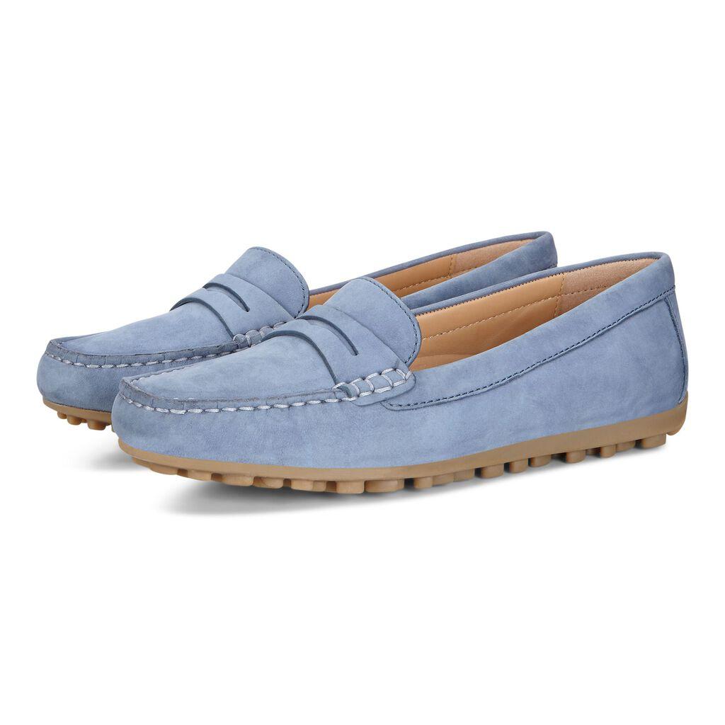 473d1a9cfa2 ... ECCO Devine Moc Penny LoaferECCO Devine Moc Penny Loafer RETRO BLUE  (02471)