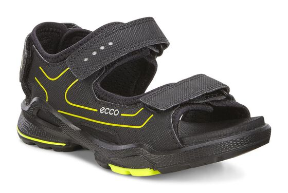 ECCO BIOM Kids Sandal (BLACK/BLACK)