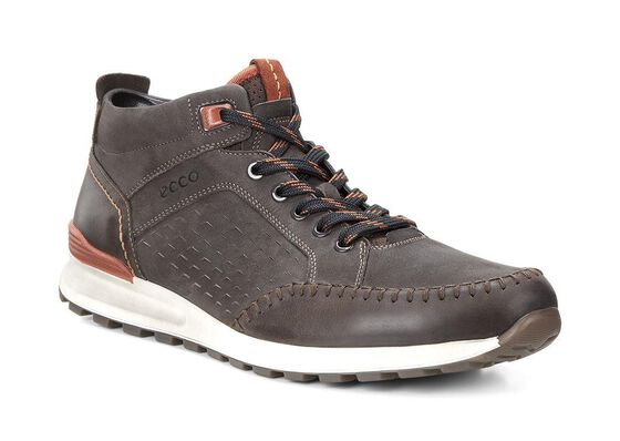 Botte rétro ECCO CS14 pour homme (COFFEE/LICORICE/PICANTE)