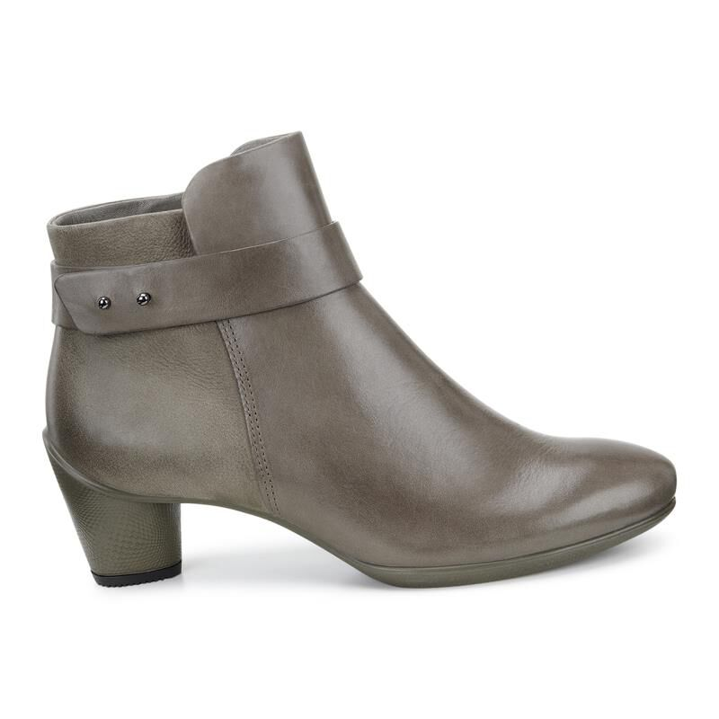 ... ECCO Sculptured 45 Ankle BootECCO Sculptured 45 Ankle Boot DARK  CLAY/DARK CLAY (55779 ...