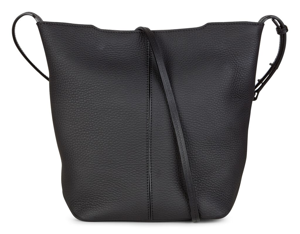 ECCO Jilin Bucket Bag (BLACK)