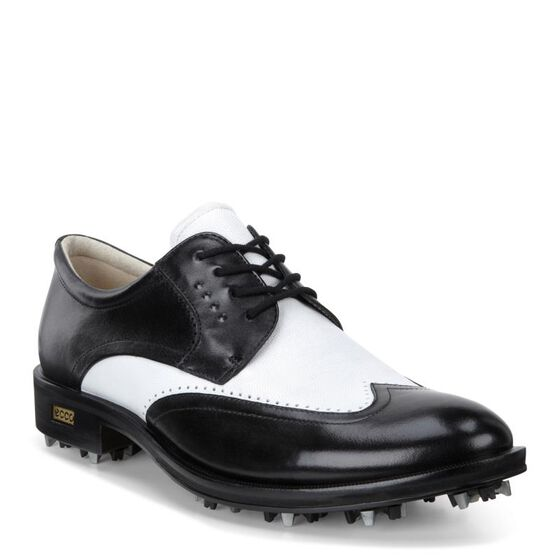 ECCO Mens New World Class (BLACK/WHITE)