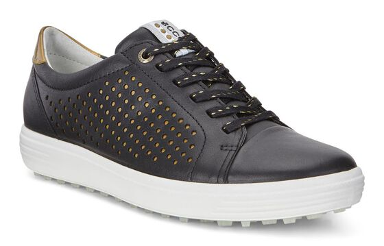 ECCO W Golf Casual Hybrid Perf (BLACK)