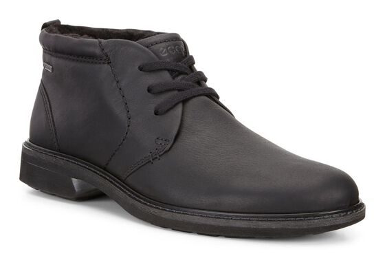 ECCO Turn GTX Lace Boot (BLACK)