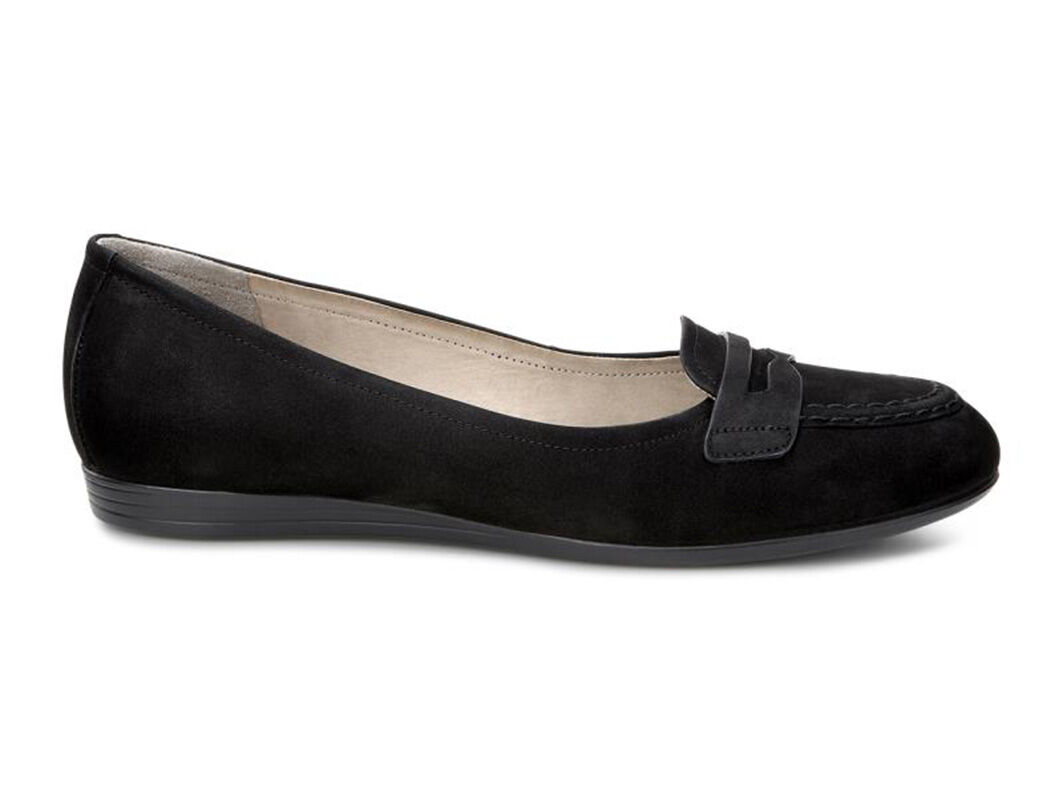 ... ECCO Touch 15 Penny LoaferECCO Touch 15 Penny Loafer BLACK (22001) ...