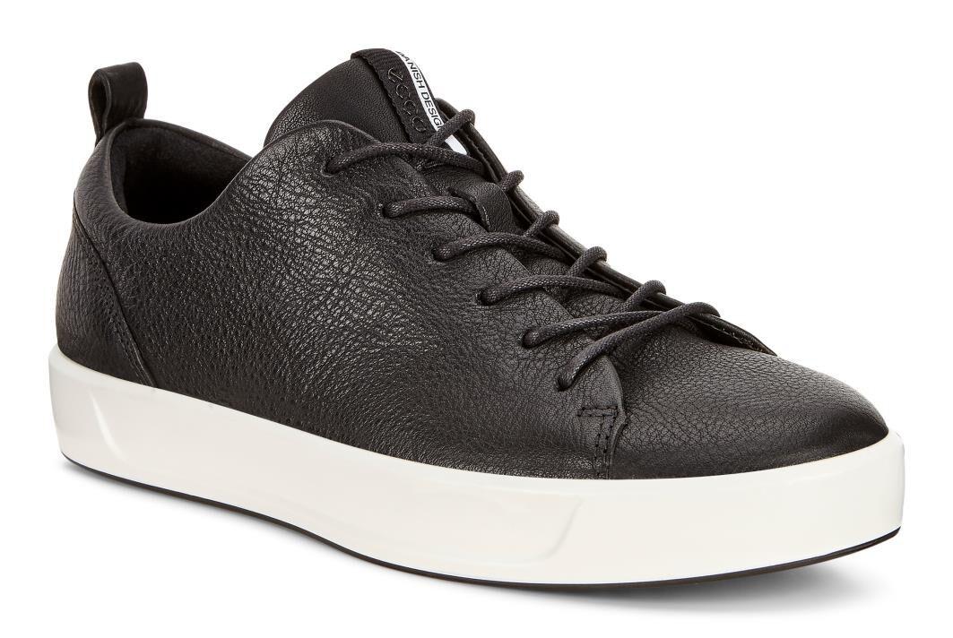 ECCO Womens Soft 8 SneakerECCO Womens Soft 8 Sneaker BLACK (01001) ...
