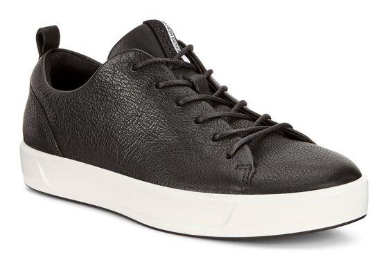 Sneaker ECCO Soft 8 pour femmes (BLACK)