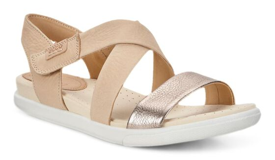 Sandale ECCO Damara Crisscross (WARM GREY/POWDER)