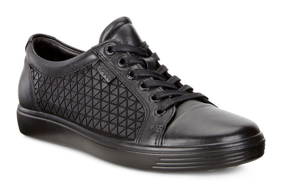 ECCO Womens Soft 7 (BLACK/BLACK)
