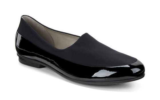ECCO Touch Ballerina Stretch (BLACK/BLACK)