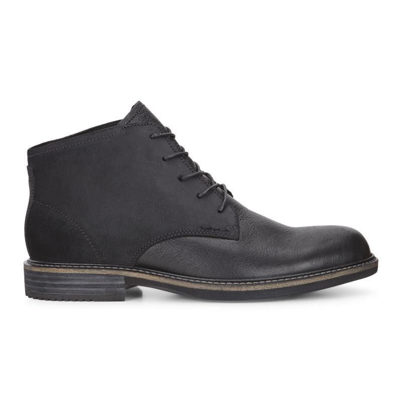 ... ECCO Kenton Plain Toe BootECCO Kenton Plain Toe Boot BLACK/BLACK  (51052) ...