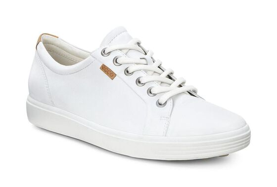 ECCO Womens Soft 7 SneakerECCO Womens Soft 7 Sneaker WHITE (01007)