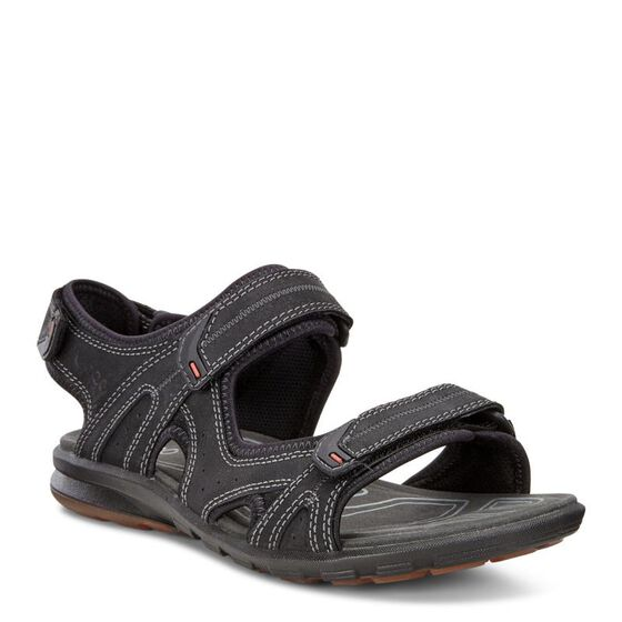 ECCO Mens Cruise Sport Sandal (BLACK)