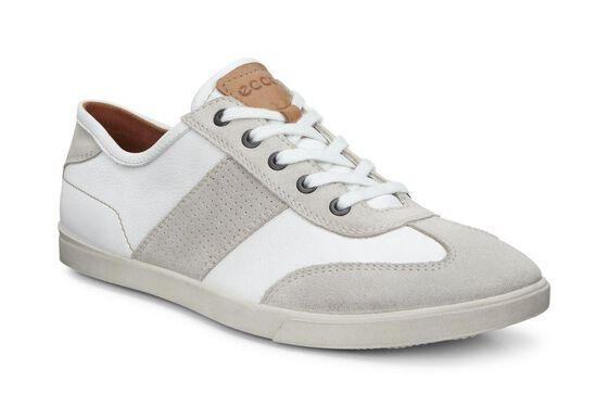 ECCO Collin Retro Sneaker (GRAVEL/WHITE)