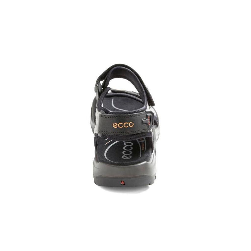 0f75e665c961 ... ECCO Mens Yucatan Offroad SandalECCO Mens Yucatan Offroad Sandal BLACK  MOLE BLACK (50034 ...