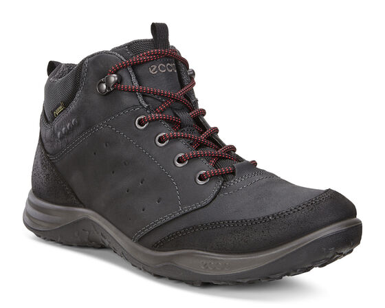 ECCO ESPINHO Outdoor Mid/High- (BLACK/BLACK)