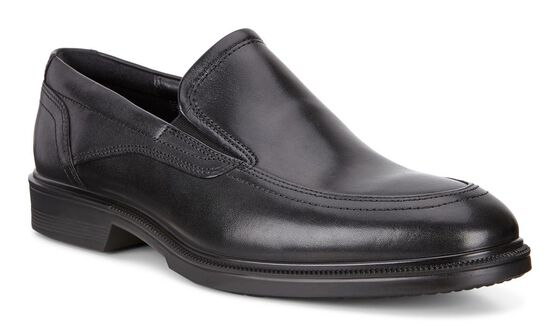 ECCO Lisbon Apron Slip On (BLACK)