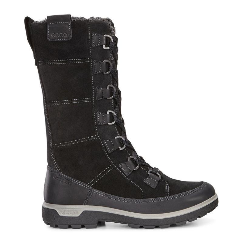 Women's Boots/ecco black black boot tall sport gora zn7z18y2