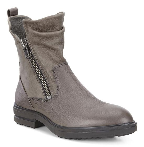 ECCO Zoe Ankle Boot (STEEL/WARM GREY)
