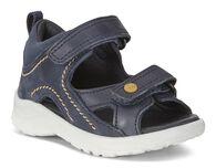 ECCO PEEKABOO Flat Sandal (MARINE/MARINE)