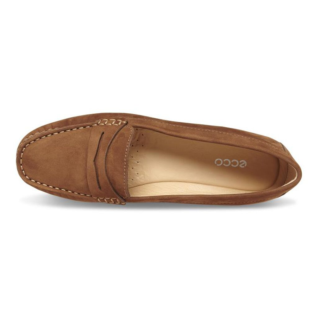 2aaab9a831f ... ECCO Devine Moc Penny LoaferECCO Devine Moc Penny Loafer WALNUT (02705)  ...