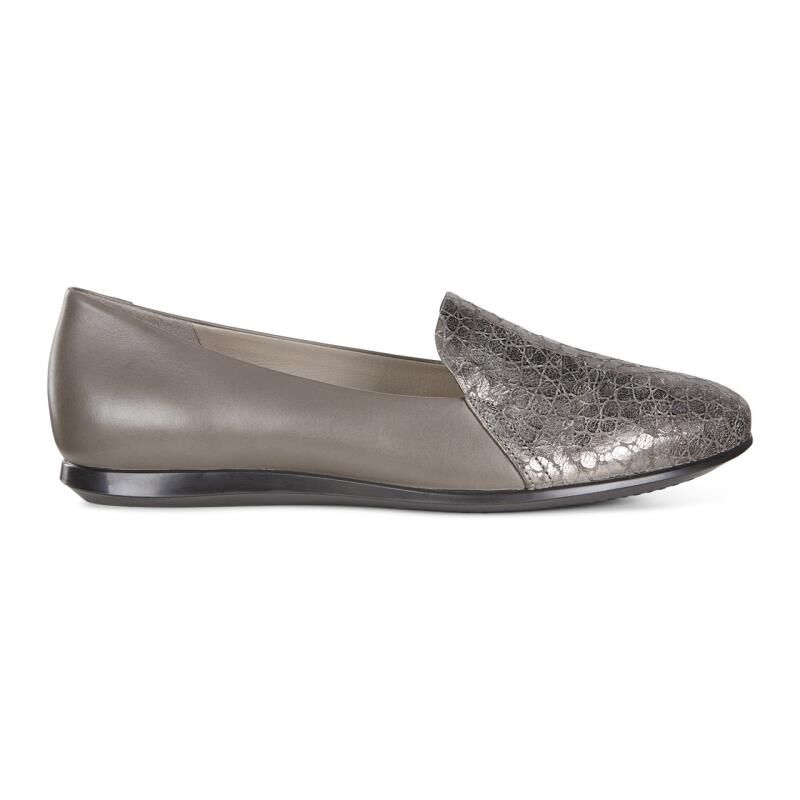 Buy Womens Dress Shoes - Ecco Touch Ballerina 2.0 Scale Warm Grey/Warm Grey