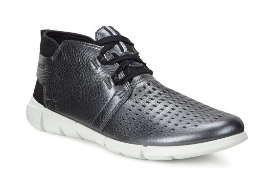 ECCO Womens Intrinsic Chukka (DARK SHADOW METALLIC)