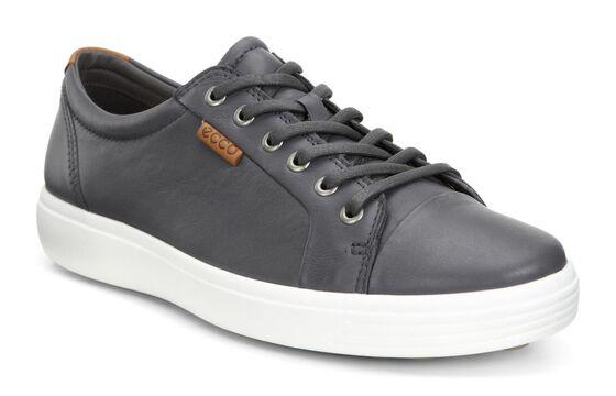 ECCO Mens Soft 7 Sneaker (DARK SHADOW)