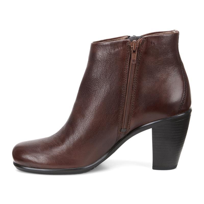 ... ECCO Touch 75 Ankle BootieECCO Touch 75 Ankle Bootie MAHOGANY (02195)  ...