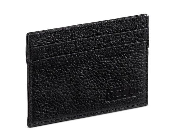 ECCO Credit Card Holder (BLACK)