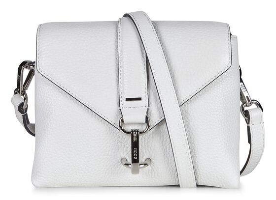 ECCO Isan Small Crossbody (WHITE)