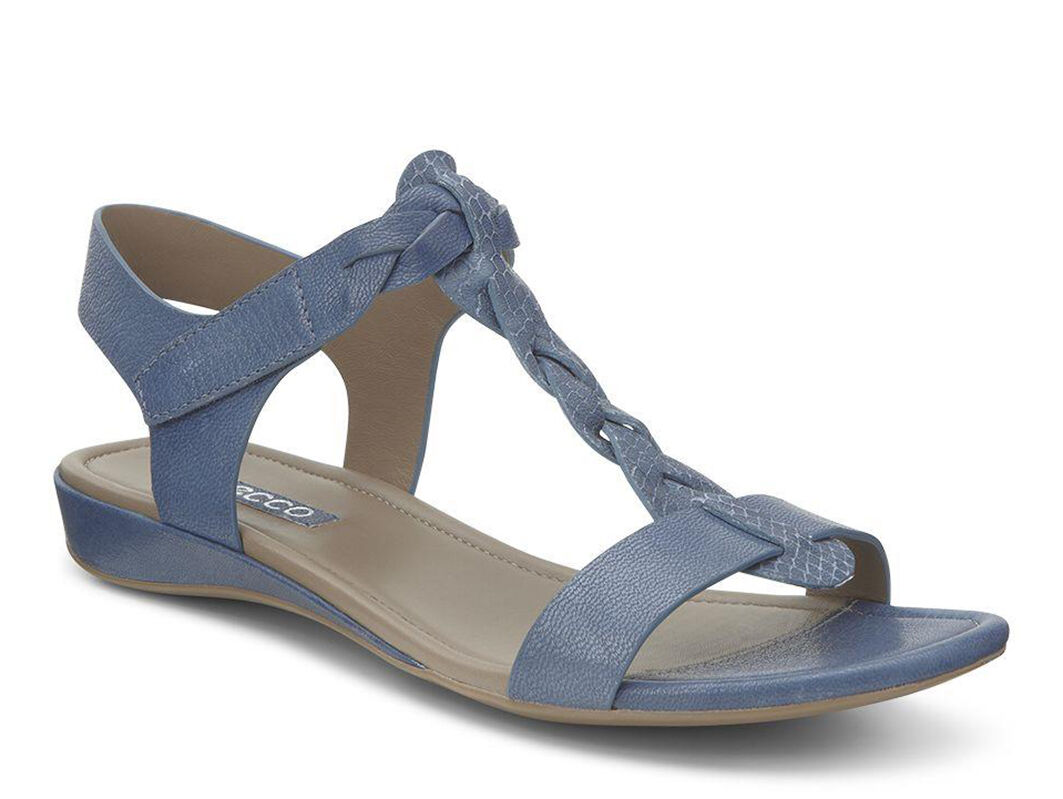 Sandals Dress Ecco Bouillon Sandal Ii Blue Denim Women S Shops Canada