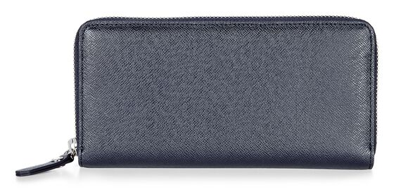 ECCO Iola Large Zip Wallet (NAVY BLUE)