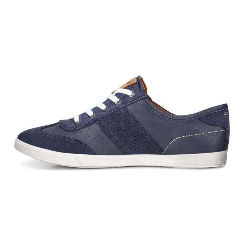 ... ECCO Collin Retro SneakerECCO Collin Retro Sneaker MARINE/MARINE  (50595) ...