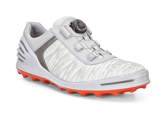ECCO Mens Golf Cage Boa Hybrid (SHADOW WHITE)