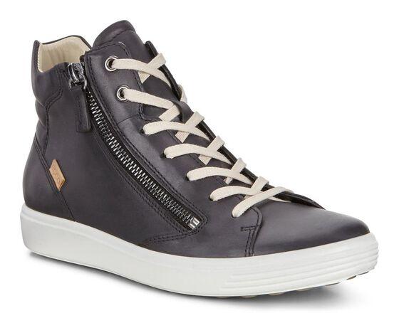 ECCO Womens Soft 7 Zip Boot (OMBRE)