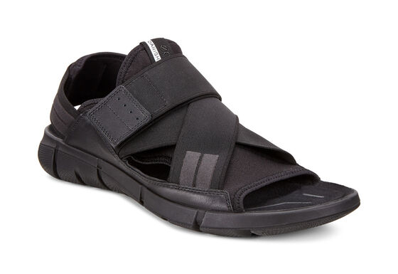 ECCO Mens Intrinsic Sandal (BLACK/BLACK)