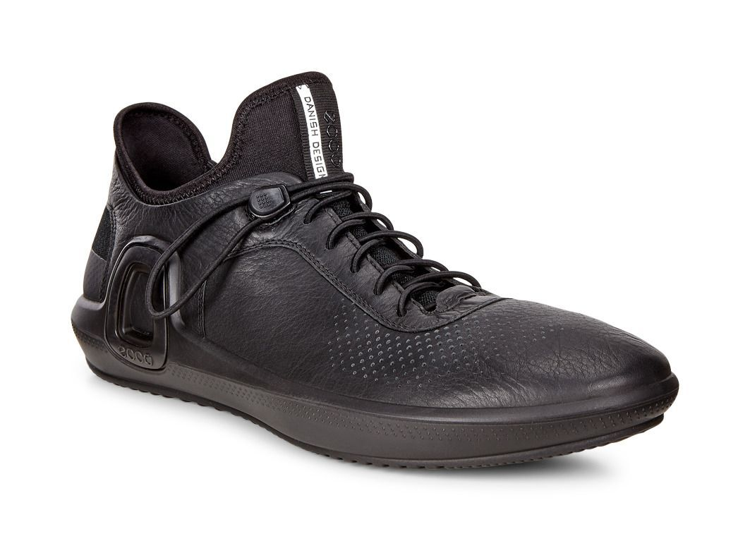 ECCO Mens Intrinsic 3 LeatherECCO Mens Intrinsic 3 Leather BLACK (01001) ...