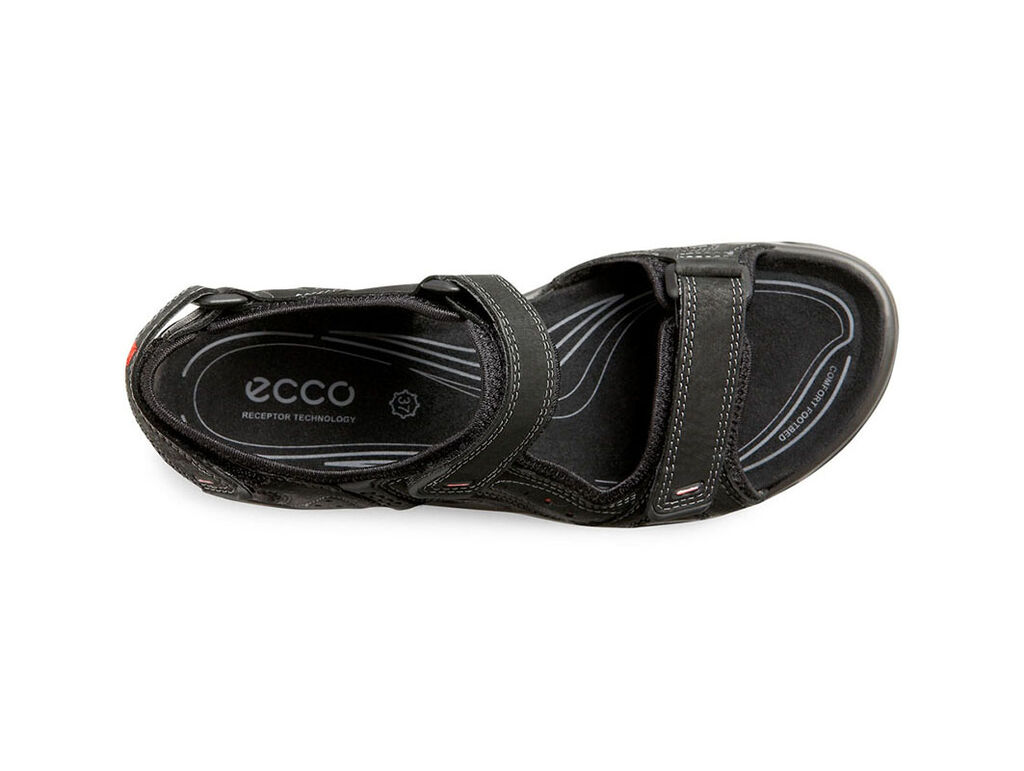 d76eaa8fa588 ... ECCO Womens Cheja Offroad Lite SandalECCO Womens Cheja Offroad Lite  Sandal BLACK POPPY (57733 ...
