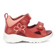ECCO Peekaboo Infants SandalECCO Peekaboo Infants Sandal in TOMATO/CORAL (50291)
