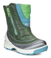 ECCO BIOM Hike Infant GTX Boot (BUFFED SILVER/PASTURES/PASTURES)